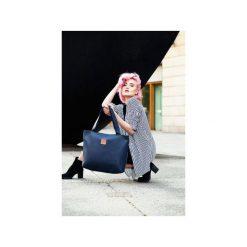 Torba Mili City Bag MCB 2 - granatowa. Niebieskie torebki klasyczne damskie Militu, w kolorowe wzory, z bawełny, duże. Za 209,00 zł.
