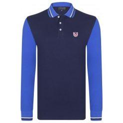 Sir Raymond Tailor Koszulka Polo Męska Block M Ciemnoniebieska. Niebieskie koszulki polo Sir Raymond Tailor, m, z bawełny. W wyprzedaży za 109,00 zł.