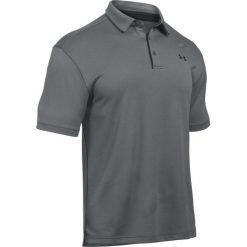 Koszulki polo: Under Armour Koszulka męska Tech Polo Szara r. S (1290140-040)
