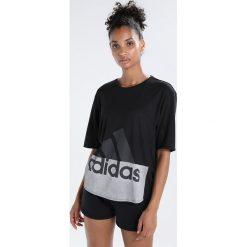 Adidas Performance LOGO Tshirt z nadrukiem black. Czarne t-shirty damskie adidas Performance, xxl, z nadrukiem, z poliesteru. Za 149,00 zł.
