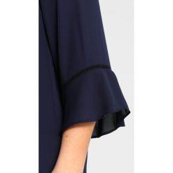 Bluzki asymetryczne: Dorothy Perkins Curve LADDER TRIM FLUTE SLEEVE Bluzka navy