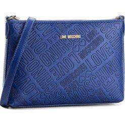 Torebka LOVE MOSCHINO - JC4018PP14LB0750 Blu. Niebieskie listonoszki damskie marki Love Moschino, ze skóry ekologicznej. Za 739,00 zł.