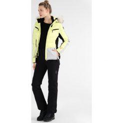 Icepeak CATHY Kurtka narciarska aloe. Żółte kurtki damskie narciarskie Icepeak, z materiału. W wyprzedaży za 575,20 zł.