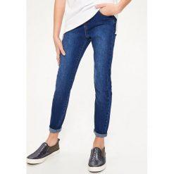 Jeansy slim fit - Granatowy. Niebieskie jeansy damskie relaxed fit marki s.Oliver RED LABEL. Za 149,99 zł.