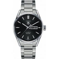 ZEGAREK TAG HEUER CARRERA WAR201A.BA0723. Czarne zegarki męskie marki KALENJI, ze stali. Za 10680,00 zł.