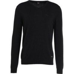 Swetry klasyczne męskie: BOSS CASUAL AKHUBOS Sweter black