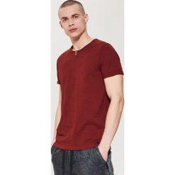 Gładki t-shirt - Bordowy. Czerwone t-shirty męskie marki House, l. Za 35,99 zł.