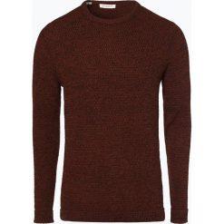 Selected - Sweter męski – Victor, brązowy. Szare swetry klasyczne męskie marki Selected, l, z materiału. Za 229,95 zł.