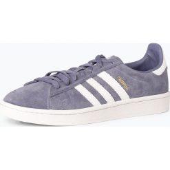 Adidas Originals - Męskie tenisówki ze skóry – Campus, niebieski. Niebieskie tenisówki męskie adidas Originals, ze skóry. Za 379,95 zł.
