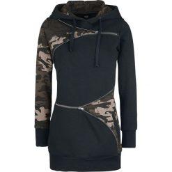 Black Premium by EMP Zip Zip Bluza z kapturem damska czarny. Czarne bluzy rozpinane damskie marki Black Premium by EMP, s, z nadrukiem, z długim rękawem, długie, z kapturem. Za 164,90 zł.