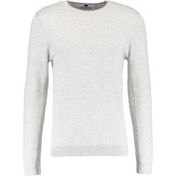 Swetry klasyczne męskie: Topman SIDE Sweter off white