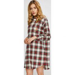 Lauren Ralph Lauren - Koszula nocna. Szare koszule nocne i halki Lauren Ralph Lauren, z bawełny. W wyprzedaży za 259,90 zł.