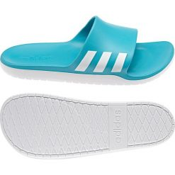 Klapki męskie: Adidas Klapki unisex Aqualette CF niebieskie r. 46 (AQ2165)