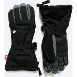 Columbia - Rękawiczki Inferno Range. Czarne rękawiczki męskie Columbia, z materiału. W wyprzedaży za 159,90 zł.