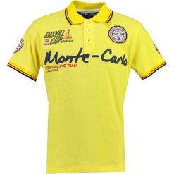 "Koszulki polo: Koszulka polo ""Karo"" w kolorze żółtym"