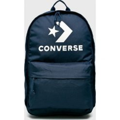 Converse - Plecak. Szare plecaki męskie Converse, w paski, z poliesteru. W wyprzedaży za 119,90 zł.