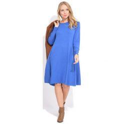 Fille Du Couturier Sukienka Damska Suzie 36 Niebieski. Niebieskie sukienki balowe Fille Du Couturier, z długim rękawem. Za 299,00 zł.