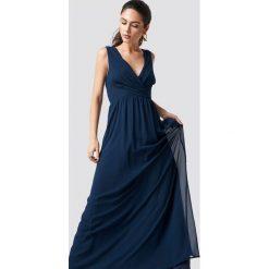 Sisters Point Sukienka Gally - Navy. Niebieskie długie sukienki marki Sisters Point. W wyprzedaży za 142,07 zł.