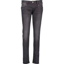 """Spodnie z wysokim stanem: Dżinsy """"Piper""""- Slim fit - w kolorze czarnym"""