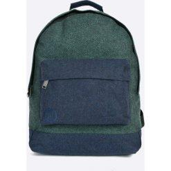 Mi-Pac - Plecak Herringbone. Szare plecaki damskie Mi-Pac, ze lnu. W wyprzedaży za 99,90 zł.