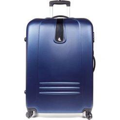 Walizka na kółkach podróżna duża M111. Niebieskie walizki Meblejana, duże. Za 125,00 zł.