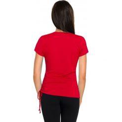 Bluzki damskie: Gwinner Koszulka DOMINIKA III Nair czerwona r. XL