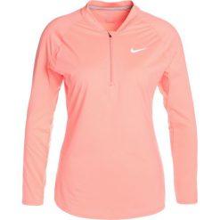 Nike Performance PURE Koszulka sportowa lava glow/white. Czerwone t-shirty damskie Nike Performance, l, z elastanu, z długim rękawem. W wyprzedaży za 164,25 zł.