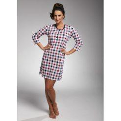 Koszula nocna damska 651/183 Naomi granatowo-różowa r. S. Czerwone bielizna ciążowa Cornette, moda ciążowa. Za 66,31 zł.