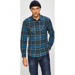 S. Oliver - Koszula. Szare koszule męskie na spinki S.Oliver, l, w kratkę, z bawełny, z klasycznym kołnierzykiem, z długim rękawem. W wyprzedaży za 139,90 zł.