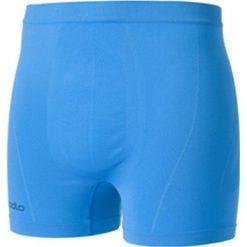 Majtki męskie: Odlo Bokserki męskie Boxer Evolution Light niebieskie r. S (181032)
