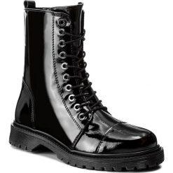 Botki BRONX - 47008-BN BX 829 Black 1. Czarne buty zimowe damskie marki Bronx, z materiału. W wyprzedaży za 339,00 zł.