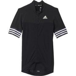 Adidas Koszulka rowerowa Adistar SS Jersey M czarna r. XL (S05513). Odzież rowerowa męska Adidas, m. Za 239,00 zł.