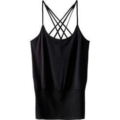 Bluzki damskie: Koszulka, ramiączka skrzyżowane z tyłu