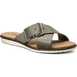 Chodaki damskie: Klapki CLARKS - Kele Heather 261335794 Sage Leather