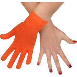 Rękawiczki damskie: Art of Polo Rękawiczki damskie wełniane pomarańczowe (rk979)