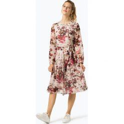 Marie Lund - Sukienka damska – Coordinates, różowy. Czerwone sukienki hiszpanki Marie Lund, z szyfonu, midi. Za 579,95 zł.