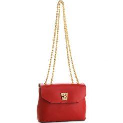 Torebka CREOLE - K10513  Czerwony. Czerwone torebki klasyczne damskie Creole, ze skóry. W wyprzedaży za 159,00 zł.