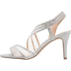 Paradox London Pink MARINA Sandały na obcasie silver glitter. Białe sandały damskie marki Paradox London Pink, z materiału. Za 349,00 zł.