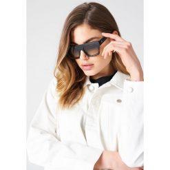 Okulary przeciwsłoneczne damskie: Le Specs Okulary przeciwsłoneczne Subdimension – Black