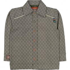 """Koszula """"Fence Me In"""" w kolorze antracytowo-brązowym. Brązowe koszule chłopięce 4FunkyFlavours Kids, z klasycznym kołnierzykiem. W wyprzedaży za 82,95 zł."""