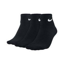 Skarpety Nike 3PPK Lightweight Quarter (SX4706-001). Czarne skarpetki męskie marki Nike. Za 39,99 zł.