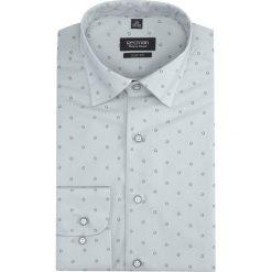 Koszula davis 2838 długi rękaw slim fit szary. Szare koszule męskie slim Recman, m, z długim rękawem. Za 149,00 zł.