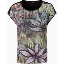 Opus - T-shirt damski – Sarinda, zielony. Zielone t-shirty damskie Opus, w kolorowe wzory, z dżerseju. Za 139,95 zł.