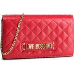 Torebka LOVE MOSCHINO - JC4118PP17LA0500 Rosso. Czerwone torebki klasyczne damskie marki Love Moschino, ze skóry ekologicznej. Za 479,00 zł.