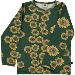 Bluzki dziewczęce: Koszulka w kolorze zielonym