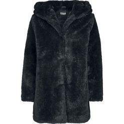 Kurtki damskie: Urban Classics Ladies Hooded Teddy Coat Kurtka damska czarny