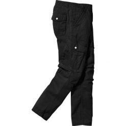 Bojówki męskie: Spodnie bojówki Regular Fit bonprix czarny