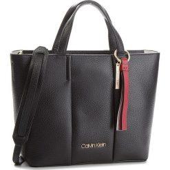 Torebki klasyczne damskie: Torebka CALVIN KLEIN - City Leather Medium K60K604478 001