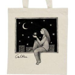 Shopper bag damskie: Okno – torba – 2 kolory