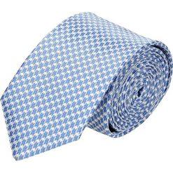 Krawat platinum niebieski classic 231. Niebieskie krawaty męskie Recman. Za 49,00 zł.